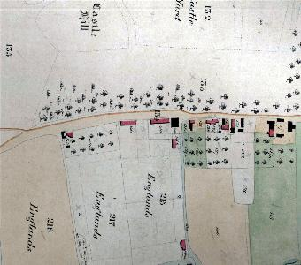 The eastern part of Lower End in 1840 [BW1006]